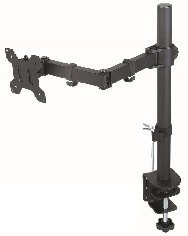 Desk Clamp Mount for PC and Apple Monitors Full Motion VESA 75x75 and 100x100
