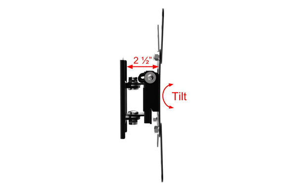 Small Size Tilt and Swivel TV Wall Mount Bracket for Screens Size 19
