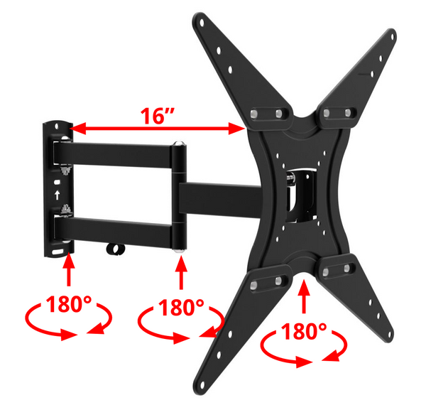 Husky Mount TV Wall Mount for TVs Size 32