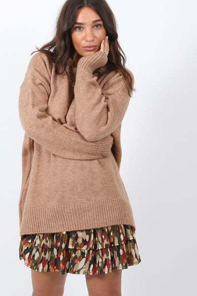 Cozy Oversized Knit Sweater