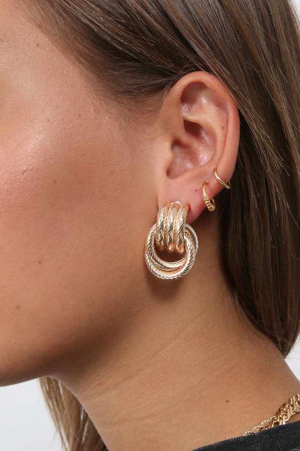 Double Up Earrings