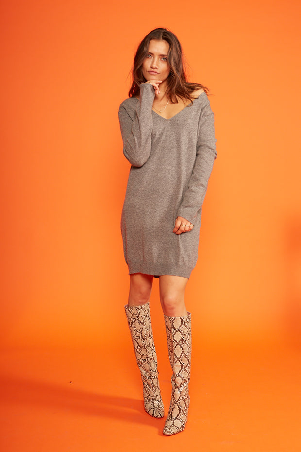 Cocky Sweater Dress