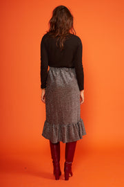Never To Glam Midi Skirt