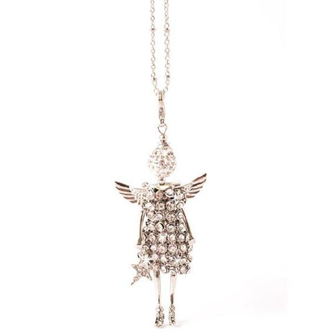 Angel Charmed Guardian Silver