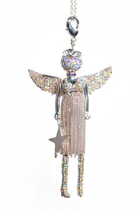 Angel Limited Edition Silver Love Christmas