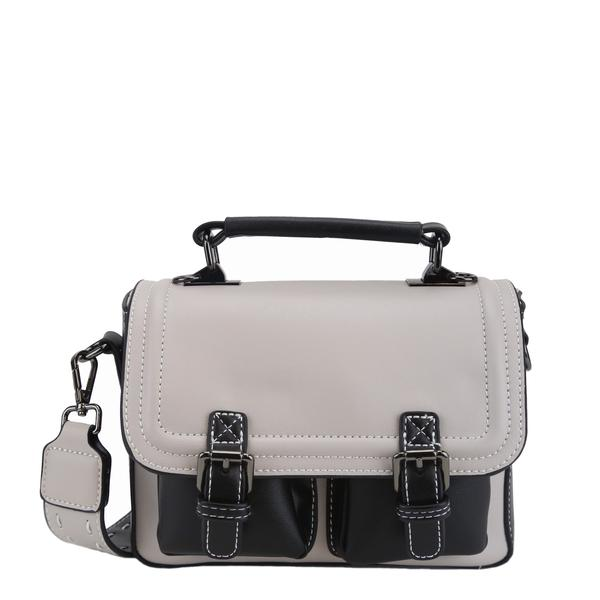 Darling's Palette Style Pocket Satchel/Shoulder Bag in 6 Colours