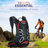 Waterproof Cycling Bag With 15 L Water Backpack - mysmartestbuy.com