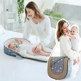 2in1 Portable Baby Travel Bag - mysmartestbuy.com
