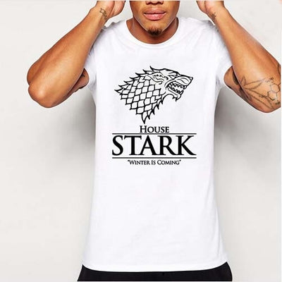 House of Stark Winterfell Wolf T - shirts - mysmartestbuy.com