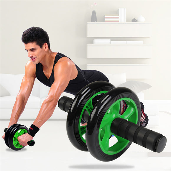Ab Wheel Roller Strong Grip Silent Abdominal Stomach - mysmartestbuy.com