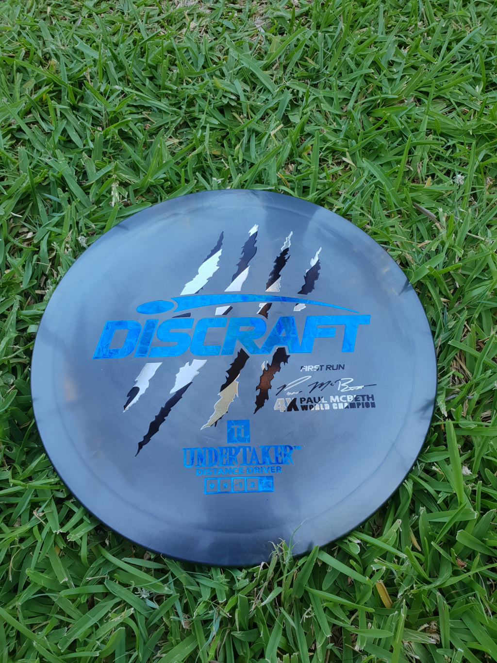 Discraft Titanium Paul Mcbeth First Run Undertaker