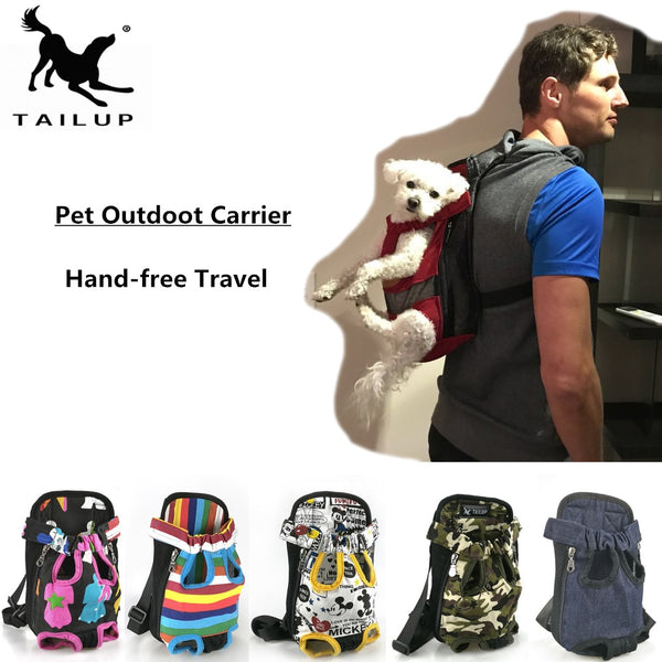 Dog Carriers Fashion Red Color Travel Dog Bag - Thepetlifestyle