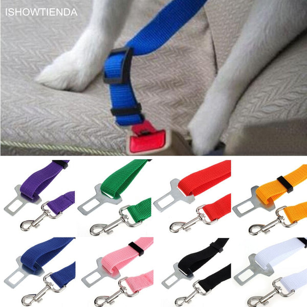 Safety Care Pets Vehicle Car Seatbelt Harness Lead Clip - Thepetlifestyle