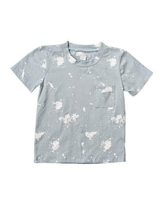 Blue Paint Splatter Shirt