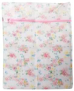 Garment Washing Bag - Pink Zipper