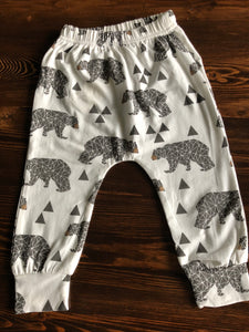 Bear Necessities Harem Pants