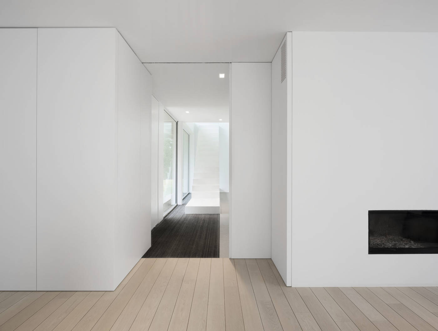 The interior design of this stunning minimalist home