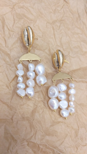 Sea treasures earrings