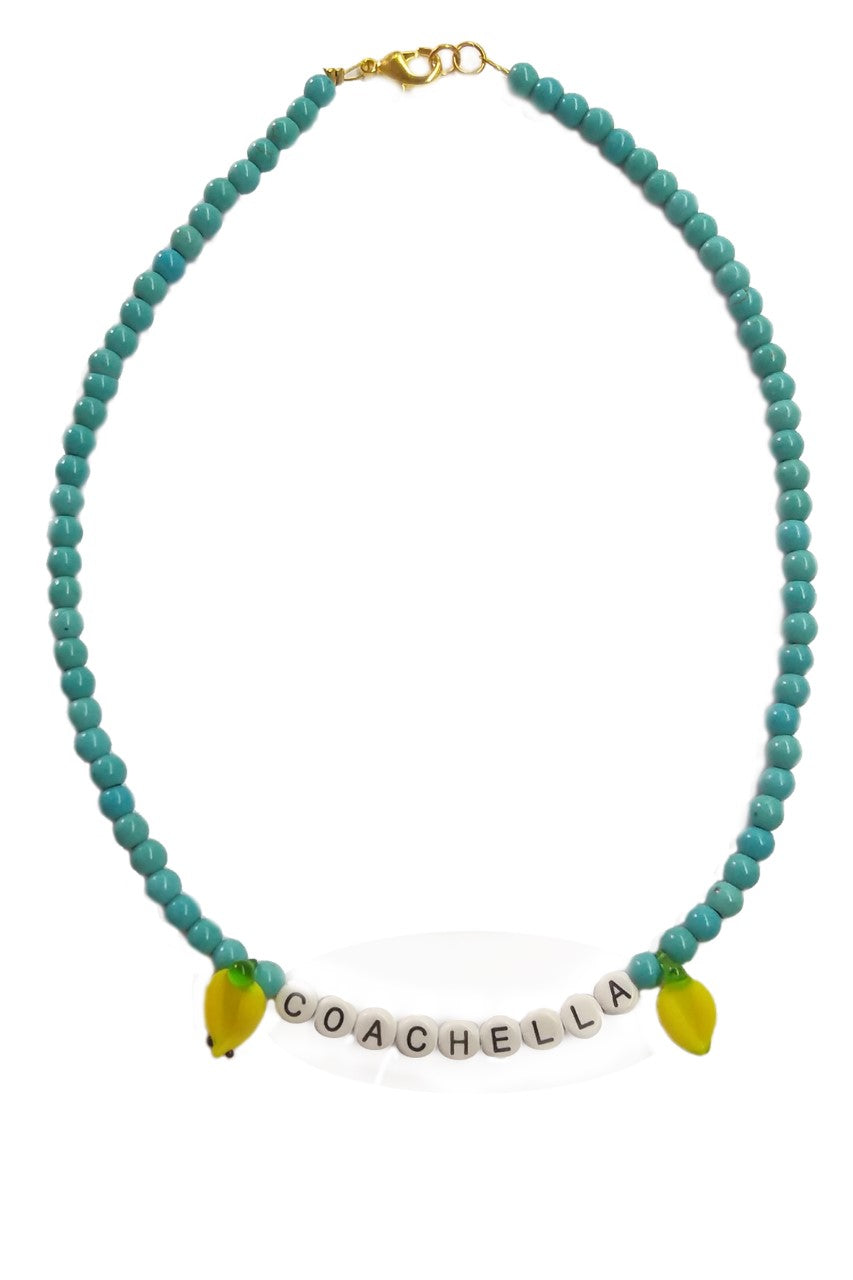 Coachella necklace - Sofi Moukidou