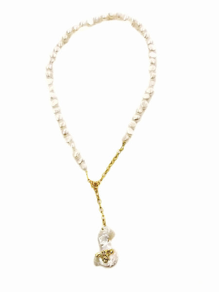 The Bees love pearls necklace - Sofi Moukidou