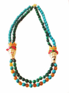 Frida and Diego necklace - Sofi Moukidou