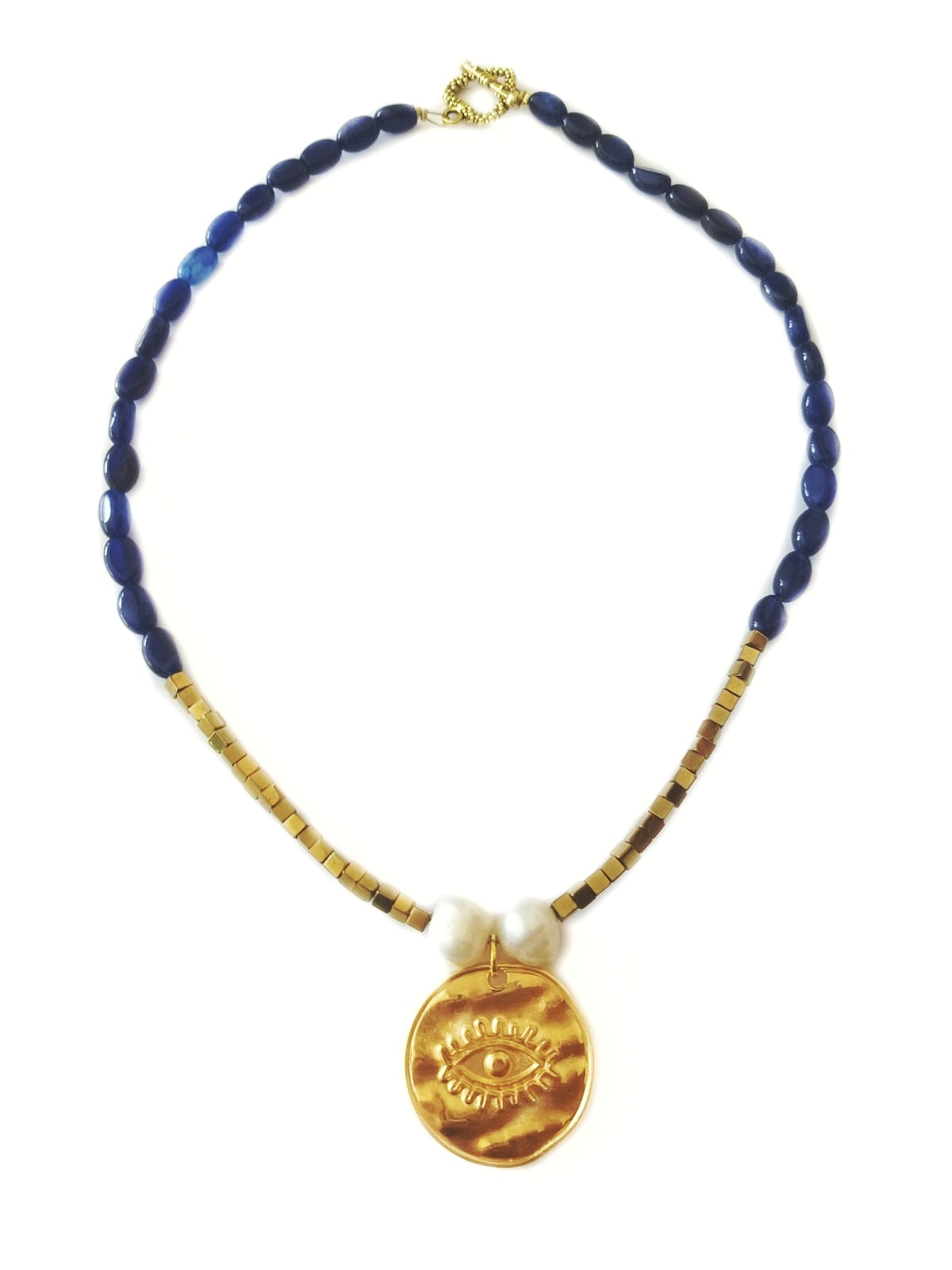 The summer in Greek islands necklace - Sofi Moukidou