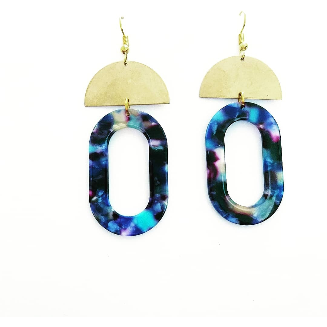 Out of space earrings - Sofi Moukidou