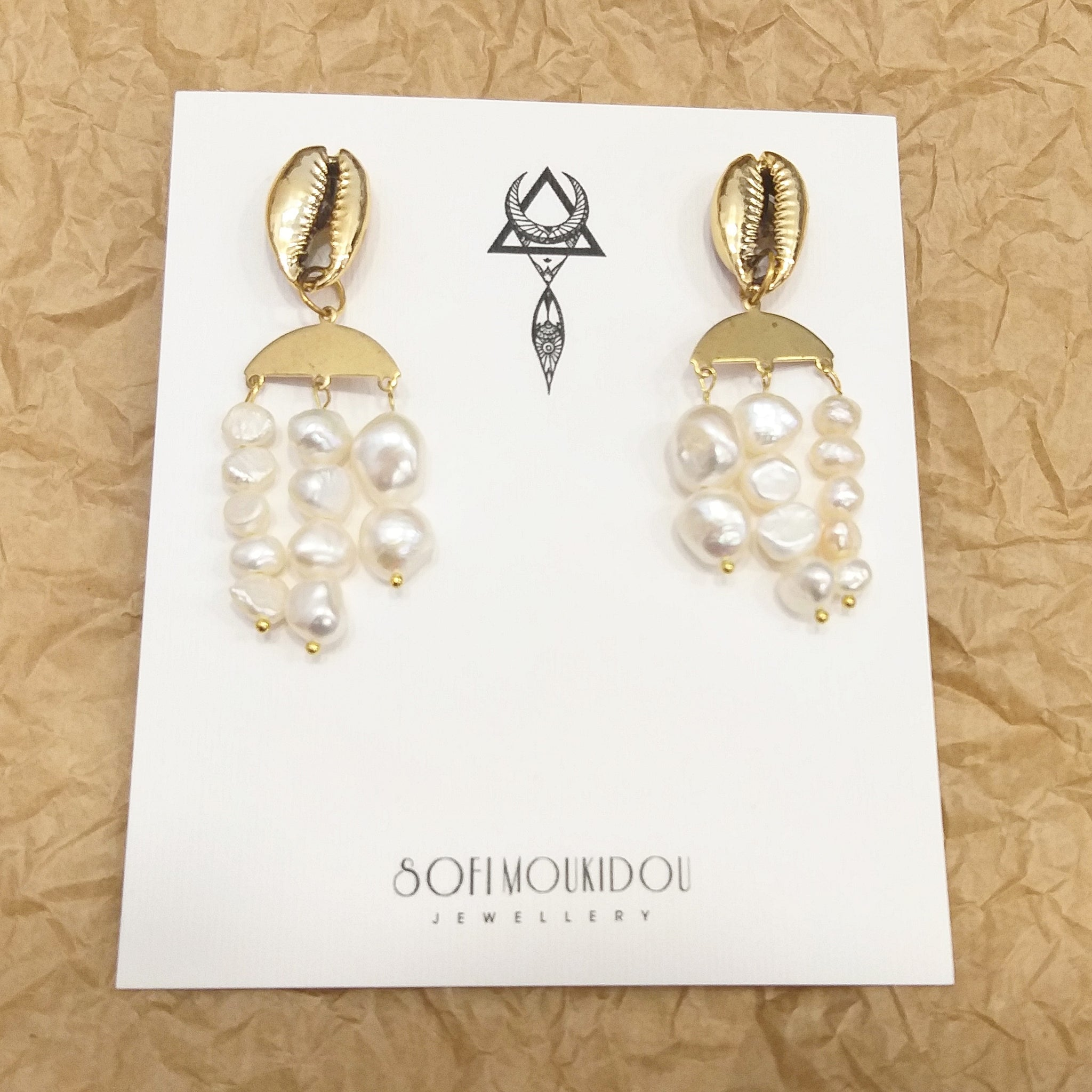 Sea treasures earrings - Sofi Moukidou