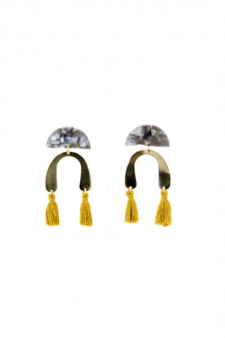 Twilight honey earrings - Sofi Moukidou