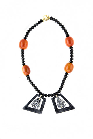Zembra amber necklace
