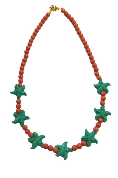 Starfishes necklace