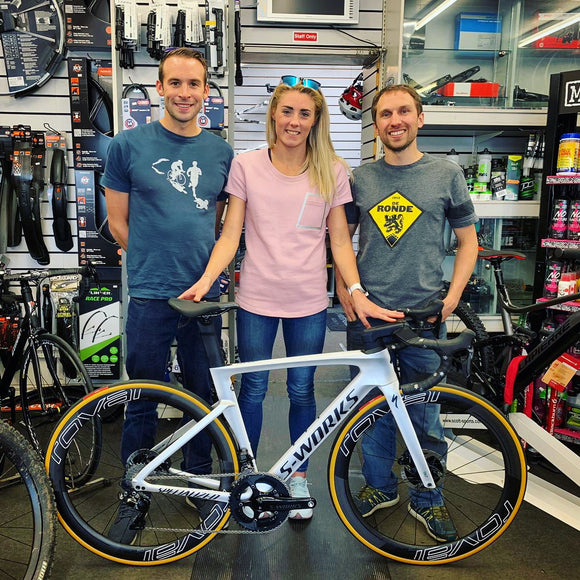 Iron Man Champion Triathlete Lucy Charles - Barclay.... proud to say - our customer!