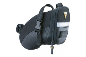 TOPEAK AERO WEDGE SADDLE BAG WITH STRAPS