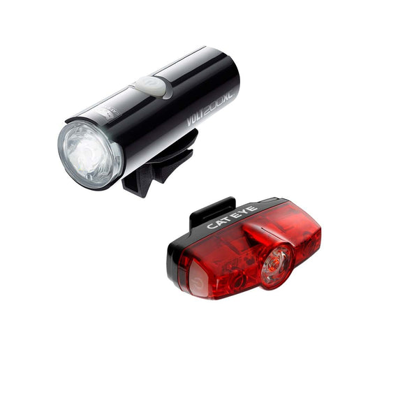 Cateye Volt 200XC / RapidMini 25 Light Set