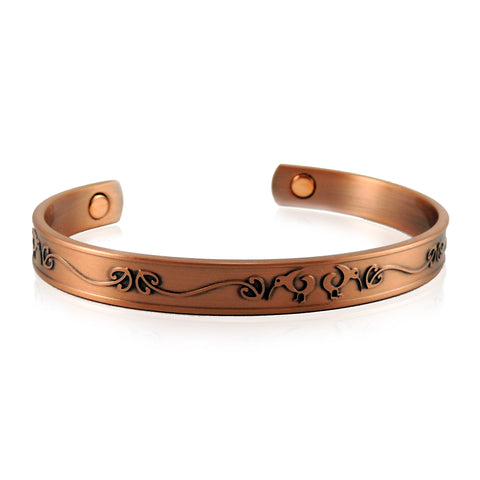 New Zealand Souvenir Jewellery - Magnetic Copper Health Bracelet