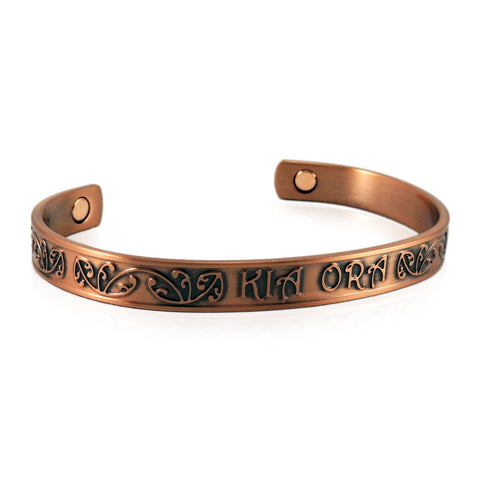 New Zealand Souvenir Jewellery -Magnetic Copper Health Bracelet