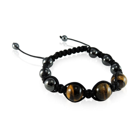 New Zealand Souvenir Jewellery -Tigereye Gemstone Bracelet