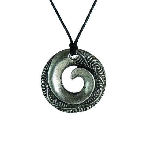 New Zealand Souvenir Jewellery - Pewter Pendant
