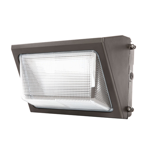 LED Wall Pack, 80W, Dusk-to-Dawn