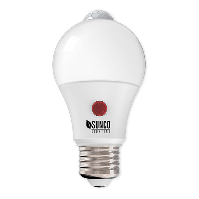 Sunco Lighting A19 Dusk to Dawn Motion LED Bulb lights detecting convenient D2D PIR sensor ENERGY EFFICIENT - SUSTAINABLE - ECO-FRIENDLY | Bulk Buyer