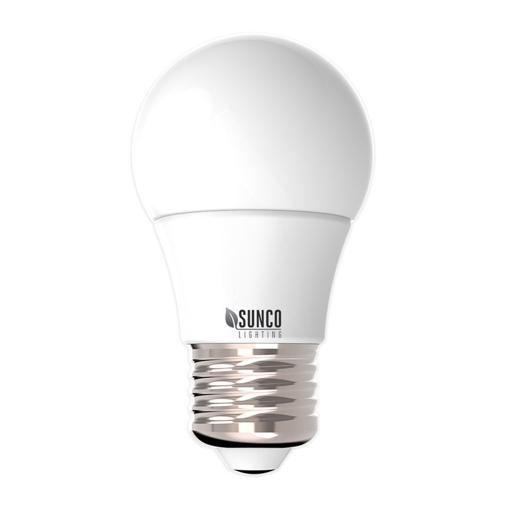 Sunco Lighting A15 LED bulb 8w  60w dimming refrigerator appliances. ENERGY EFFICIENT - SUSTAINABLE - ECO-FRIENDLY