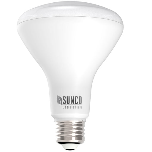 Sunco BR30 LED Bulb is a durable light bulb with a long lifespan to reduce your relamping time and save on maintenance hour expenses. This energy efficient LED light bulb is a wide flood with a 110 degree beam angle for wall washes and area lighting. The LED is suitable for 5-inch or 6-inch cans and can easily reduce your wattage consumption when compared to traditional bulbs. This LED bulb consumes only 11W and is a 65W equivalent. Bulk Buying available.