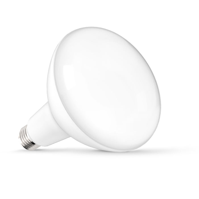 Create wall washes and light big areas with the Sunco BR40 LED Bulb with its wide flood beam angle of 110 degrees. The BR40 LED includes a bright 1400 lumens of light in a soft, diffused flood. Use them in 5-inch or 6-inch recessed cans as downlights.