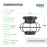 Dimensions of the 120V Bayview Industrial Ceiling Light are 7.9 inch diameter and 5.98 inch height. An A19 Filament Bulb is included. This instant on light bulb is flicker free and includes an E26 base. It has a 15,000 hour lifespan. This fixture includes an open cage made of durable steel with a black matte finish. It is a damp rated light fixture that accepts both LED and traditional light bulbs. Refer to tech specs for bulb maximum details.