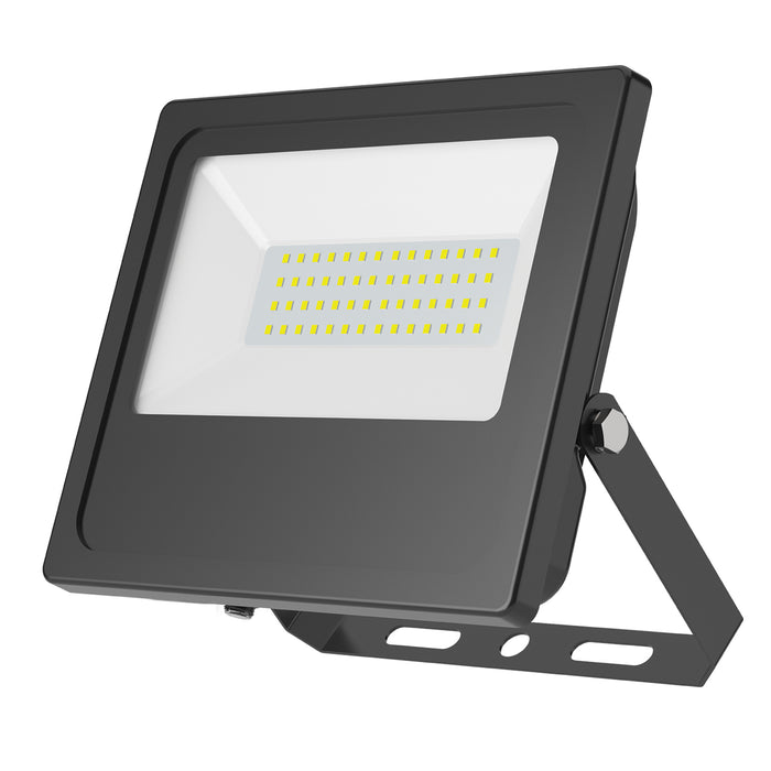Sunco LED Flood Light 50W includes an adjustable yoke mount that installs on wall or ground.