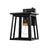 The sleek wrought iron shade on the Sunco Cambria Caged Wall Sconce with Dusk to Dawn is rust resistant and wet rated for exterior use. This light fixture is easily installed with our simple installation manual. The fixture includes glass panes inside the iron frame to show off your E26 base light bulb. Fixture is compatible with both incandescent (60W max) and LED (9W max). A built-in dusk to dawn sensor does all the work for you with automatic on/off lighting and no timer needed.