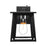 Viewed from the front, the Sunco Lighting Cambria Caged Wall Sconce with Dusk to Dawn features clear, glass panes inside a wet rated and rust resistant wrought iron frame with a matte black finish. The fixture automatically turns on when no light is detected and off when light returns for bright light all night. The Dusk to Dawn sensor at the top of the fixture does all the work for you. Just turn on the light and let the sensor decide when light is required.