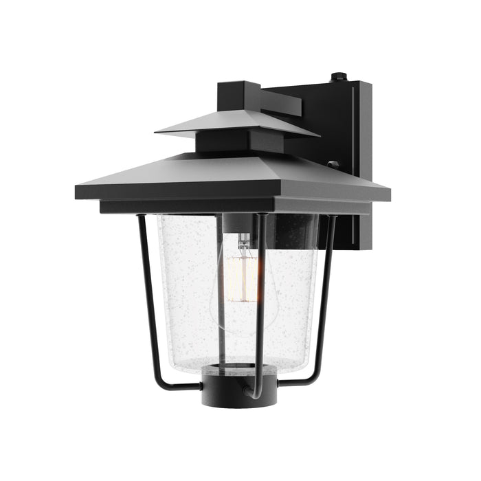 The wet rated Dakota Caged Wall Sconce with Dusk to Dawn features Victorian styling and a seeded glass shade inside its rust-resistant, wrought iron frame with a matte black finish. The most compact of all the Sunco Lighting wall sconces, this beautiful sconce includes Dusk to Dawn to automatically turn on/off your lighting outside, without a timer! Let the built-in sensor do all the work for you. Easily install the direct wire sconce using our simple installation manual.