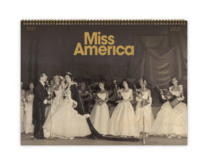 100th Anniversary Miss America Calendar for 2021