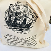 Captain Wentworth's Letter Tote Bag